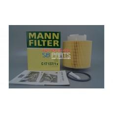 에어크리너(MANN C17137/1x) AUDI / 4F0133843